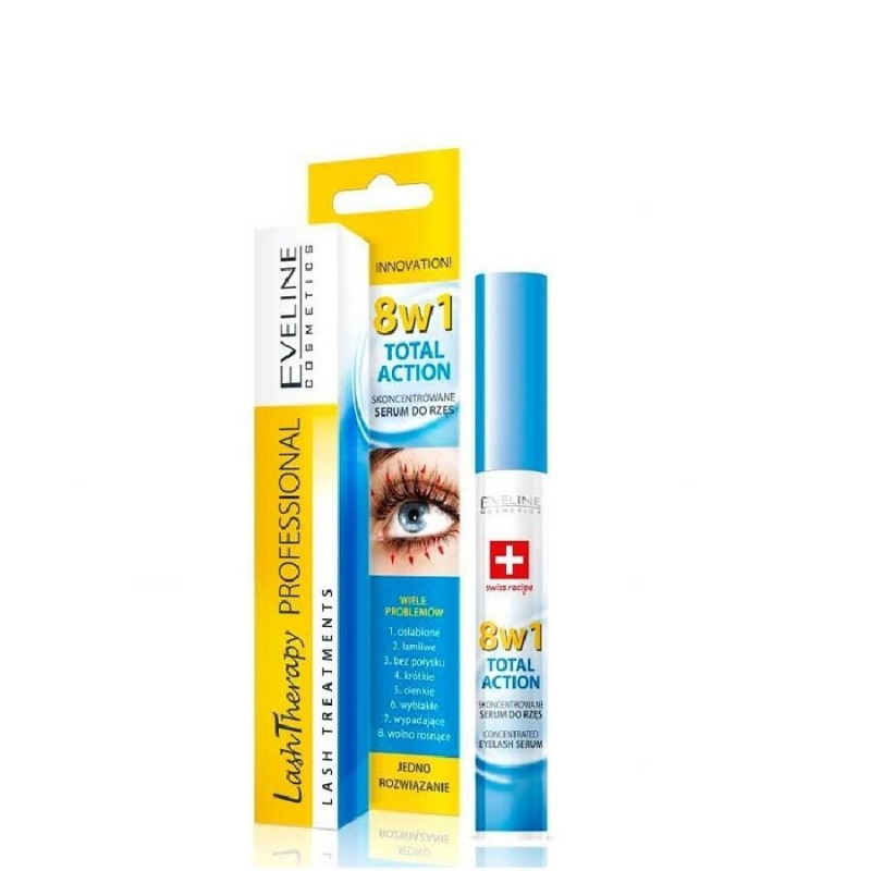 Eveline Lash Therapy 8in1 Total Action Eyelash Serum