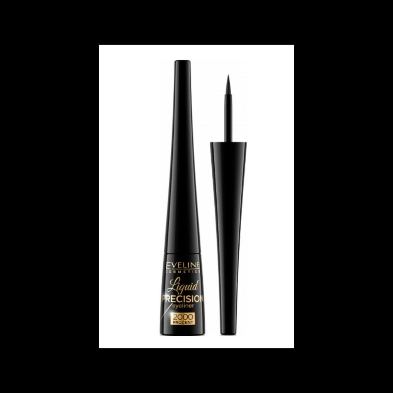 Eveline Liquid Precision 2000 Eyeliner Black