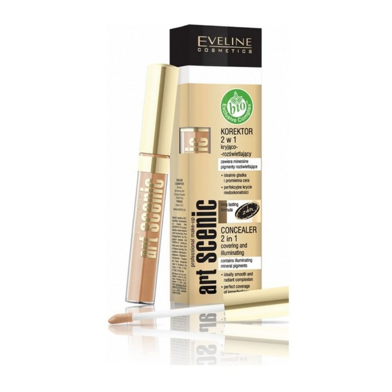 Eveline Art Scenic 2in1 Concealer 08 Porcelain