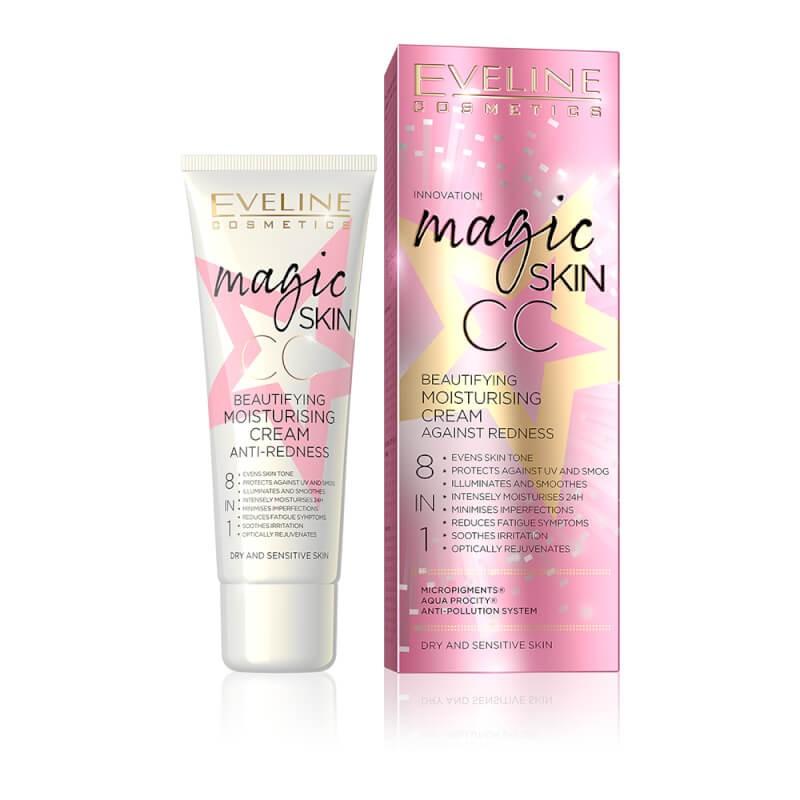 Eveline Magic Skin CC Anti-Redness Cream