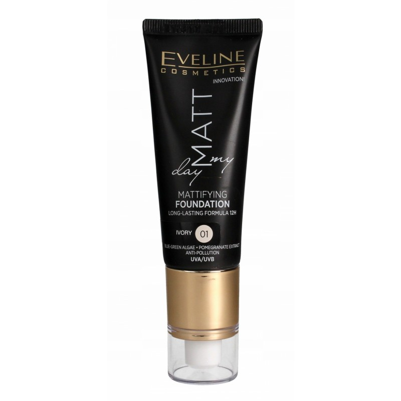 Eveline Matt My Day Mattifying Foundation 01 Ivory
