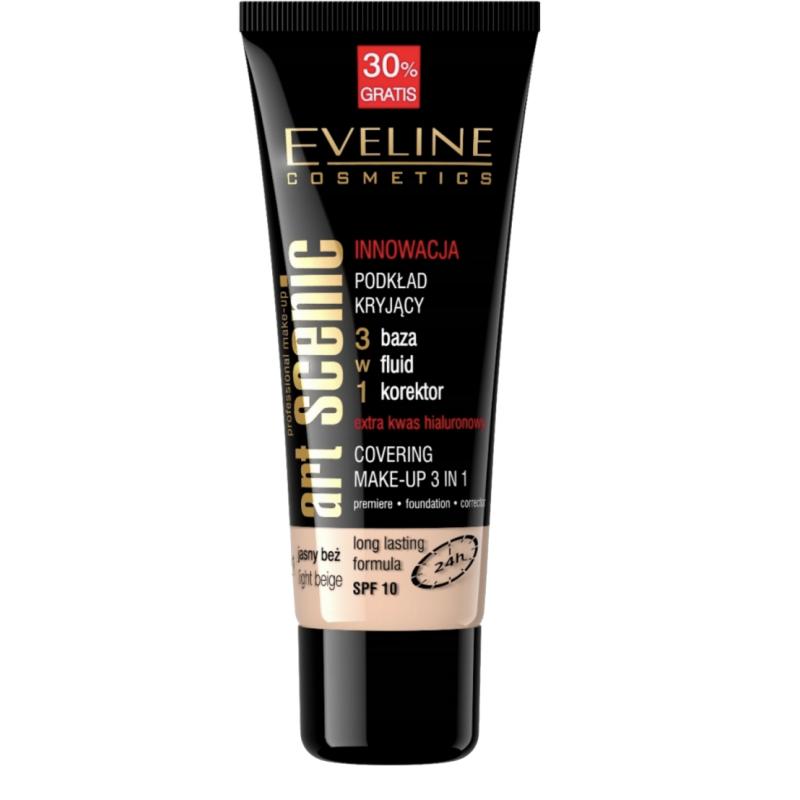 Eveline Art Scenic Covering Make-Up 3in1 Light Beige