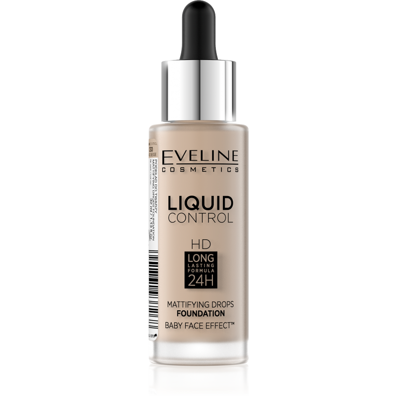 Eveline Liquid Control Foundation 030 Sand Beige