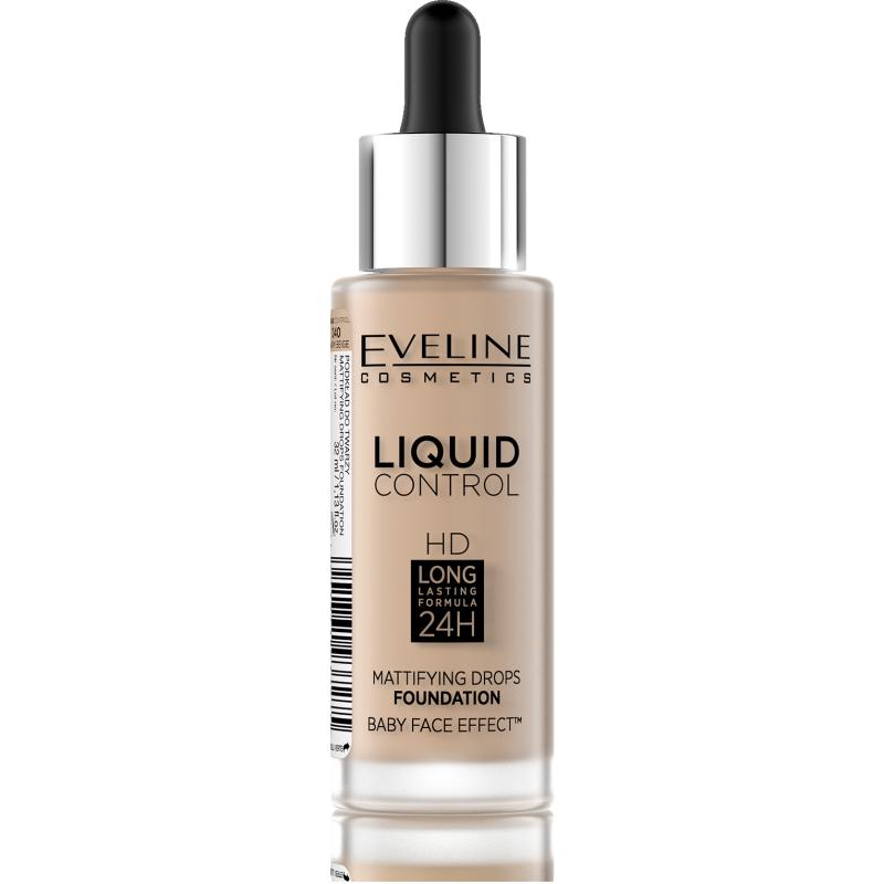 Eveline Liquid Control Foundation 040 Warm Beige