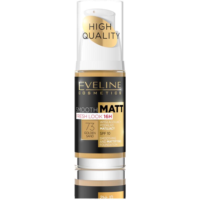 Eveline Smooth Matt Foundation 73 Golden Sand
