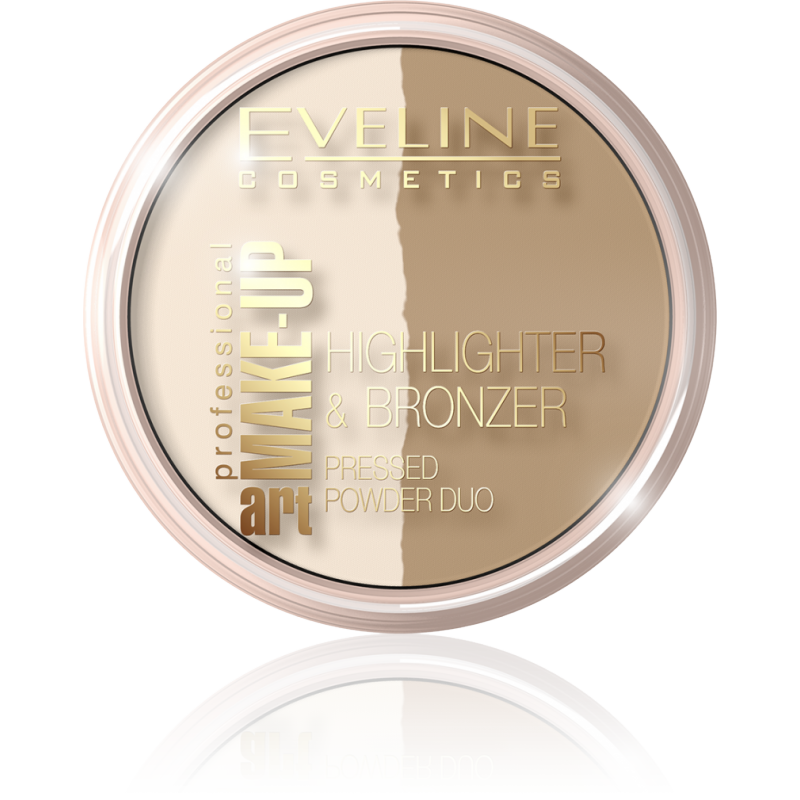 Eveline Art Make-Up Highlighter & Bronzer 56 Glam Light