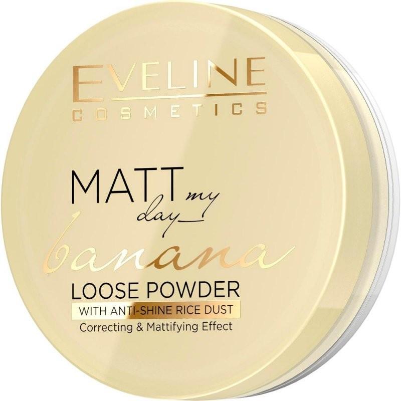 Eveline Matt My Day Banana Loose Powder