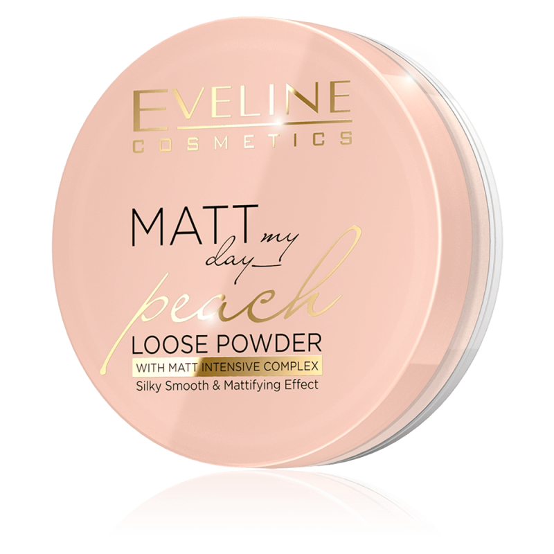 Eveline Matt My Day Peach Loose Powder
