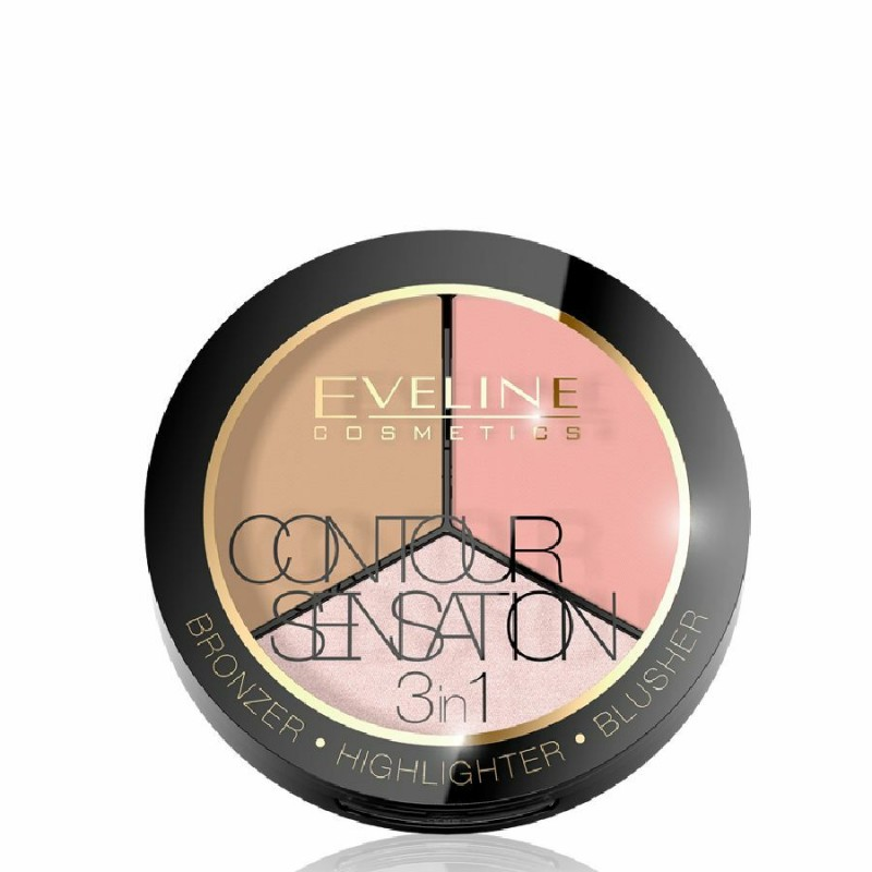 Eveline 3in1 Contour Sensation 1 Pink Beige