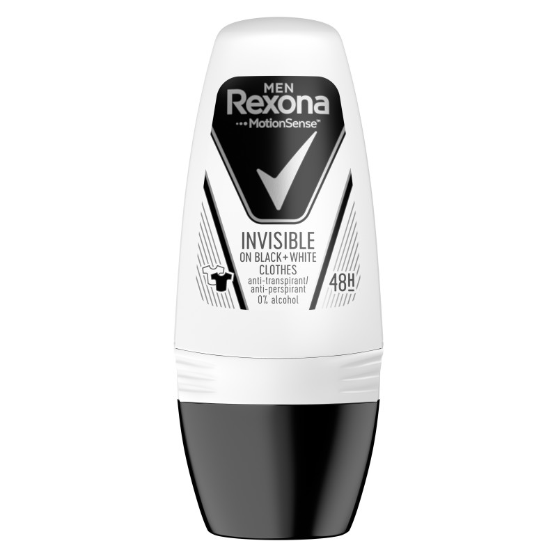 Rexona Men Invisible Black & White Roll-on