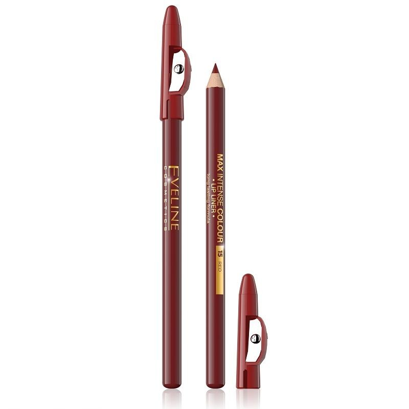Eveline Max Intense Colour Lip Liner 15 Red