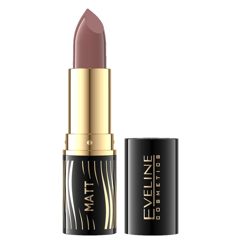 Eveline Velvet Matt Lipstick 507 Dark Plum