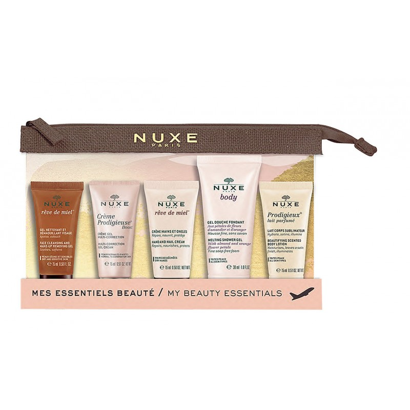 Nuxe My Beauty Essentials Travel Kit 2019