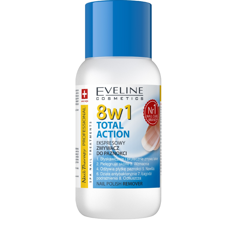 Eveline Nail Therapy 8in1 Total Action Nail Polish Remover
