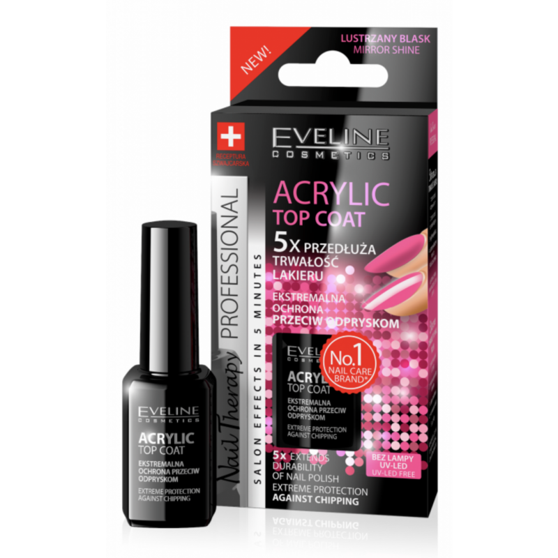 Eveline Nail Therapy Acrylic Top Coat