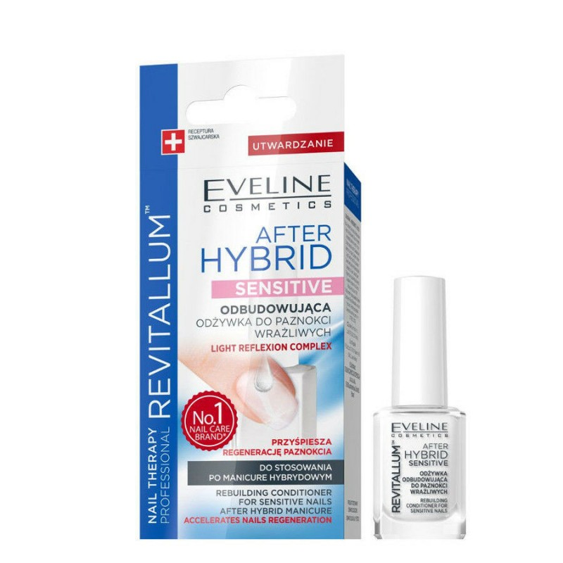 Eveline Nail Therapy Revitallum After Hybrid Sensitive