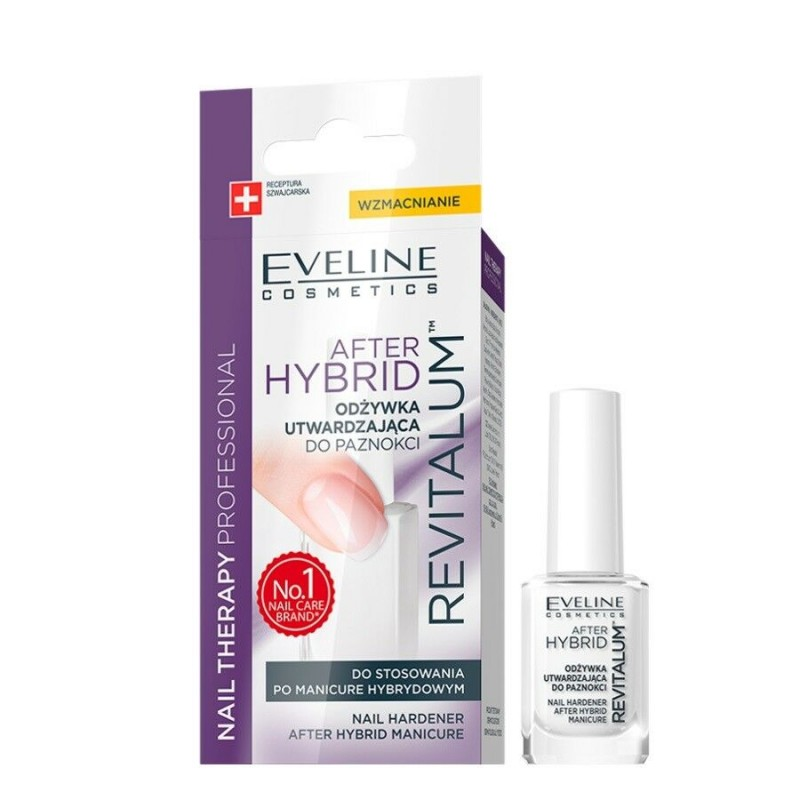 Eveline Nail Therapy Revitalum After Hybrid Nail Hardener