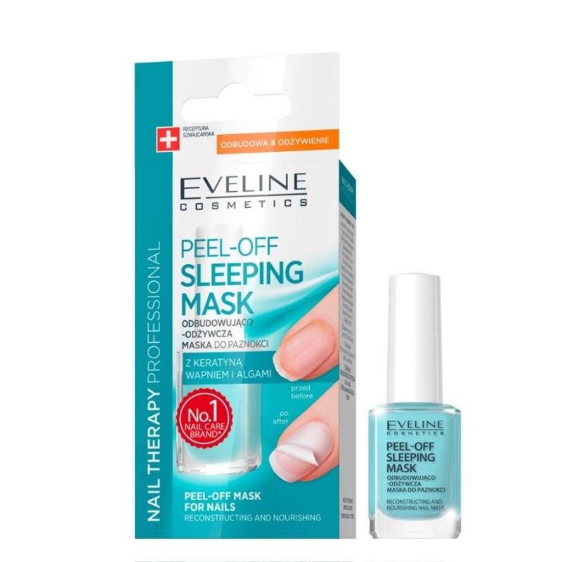 Eveline Nail Therapy Peel-Off Sleeping Nail Mask
