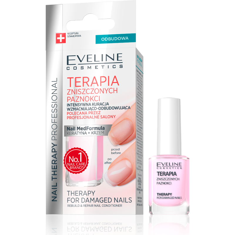 Eveline Nail Therapy Damaged Nails
