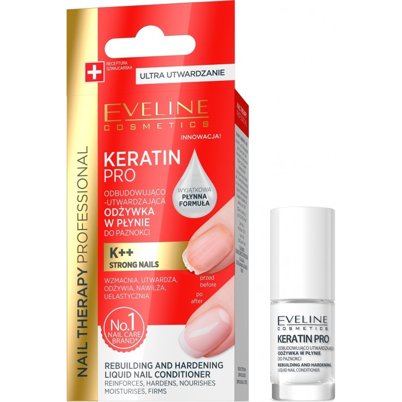 Eveline Nail Therapy Keratin Pro