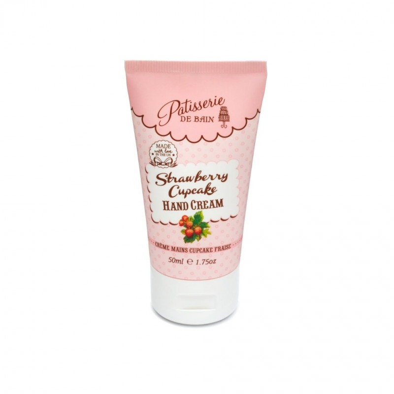 Patisserie de Bain Strawberry Cupcake Hand Cream