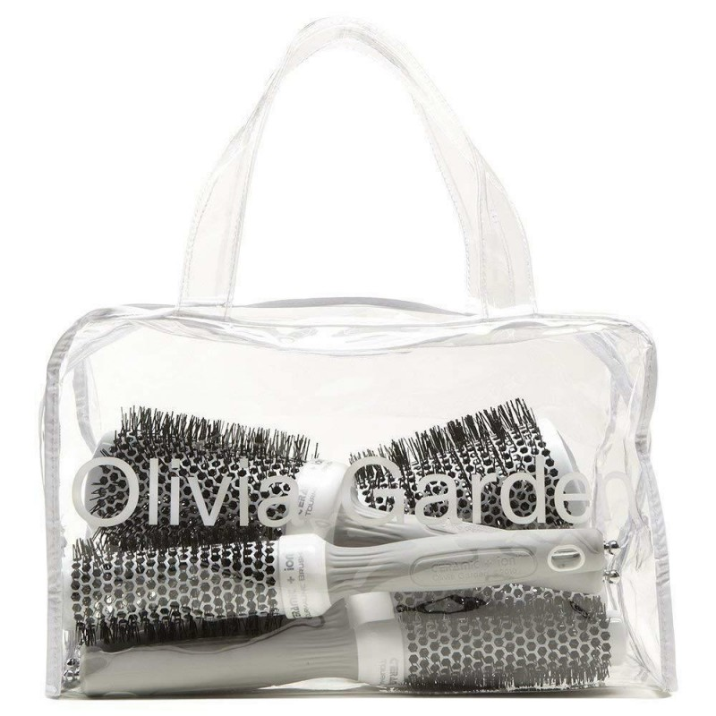 Olivia Garden Ceramic + Ion Hair Brushes In Bag CI20, CI25, CI35, CI45, CI55