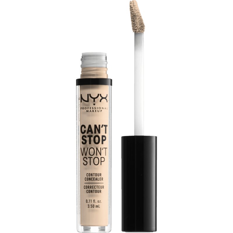 NYX Can't Stop Won't Stop Contour Concealer Light Ivory