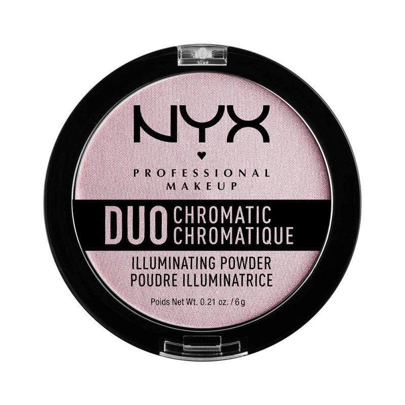 NYX Duo Chromatic Illuminating Powder Lavender Steel