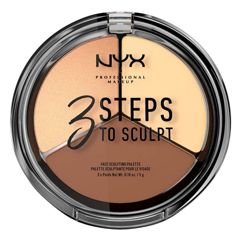 NYX 3 Steps To Sculpt Light