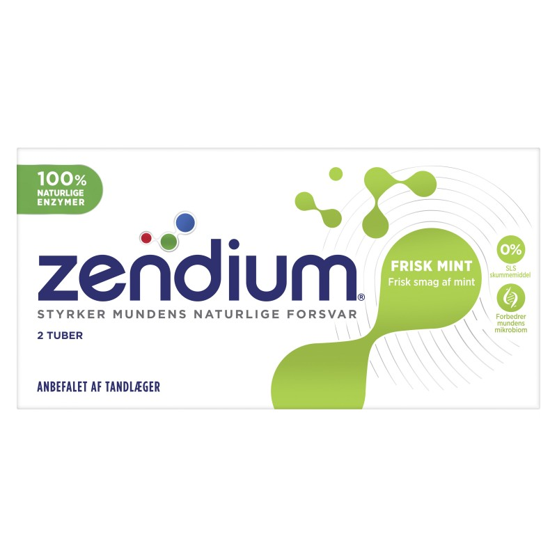 Zendium Frisk Mint 2-pak Tandpasta