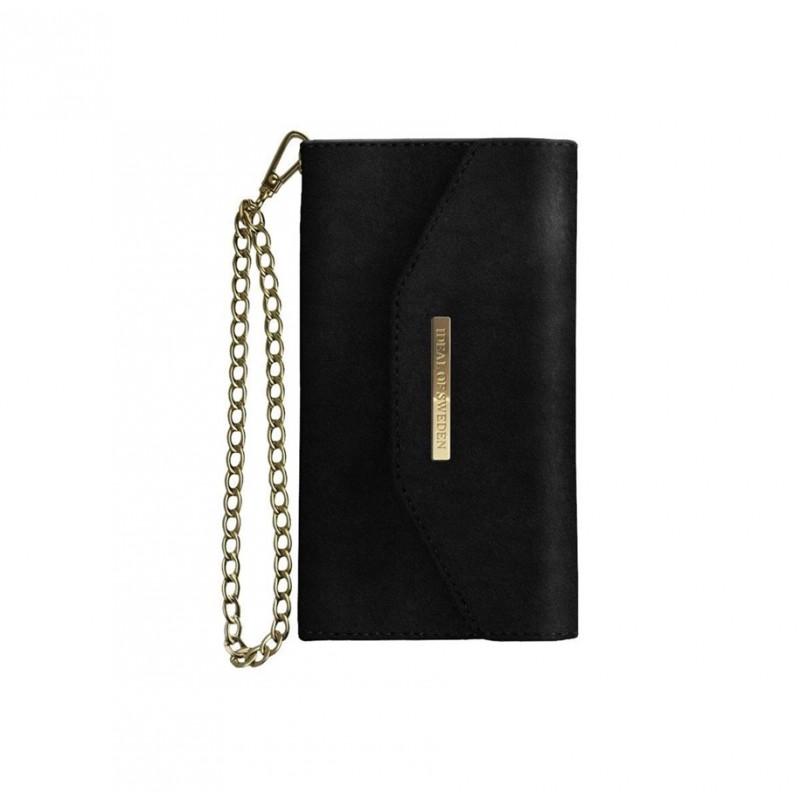 iDeal Of Sweden Mayfair Velvet Clutch iPhone 6/6S/7/8 PLUS Black