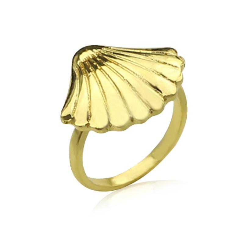 Everneed Shella Ring Guld Finish