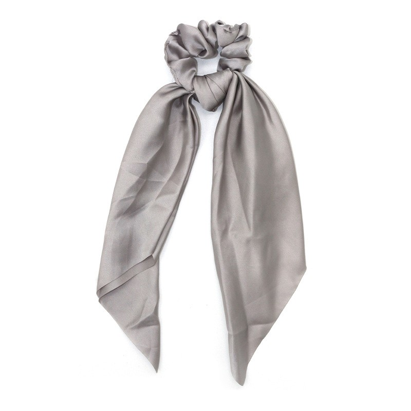 Everneed Selma Knot Scrunchie Grey