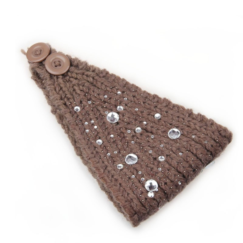 Everneed Zui Knitted Headband Taupe