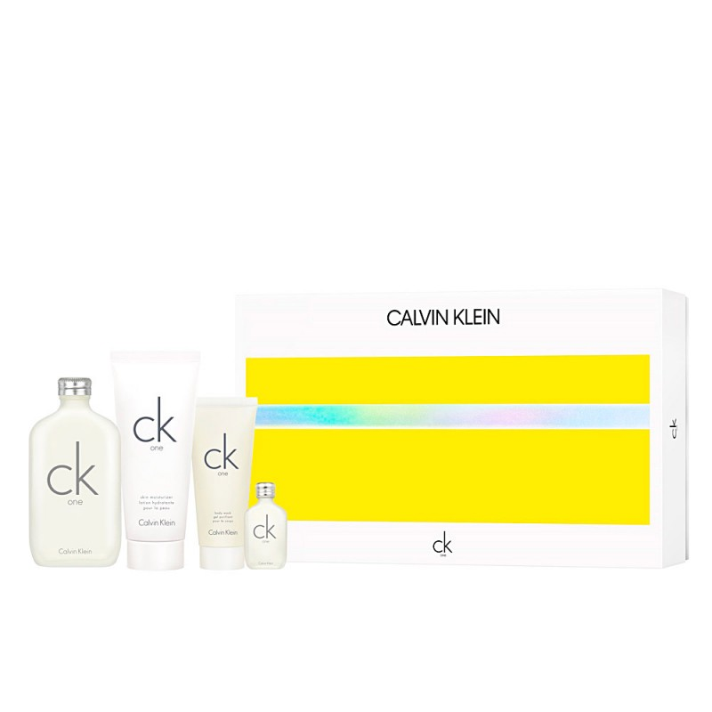 Calvin Klein CK One EDT & EDT Mini & Shower Gel & Body Lotion