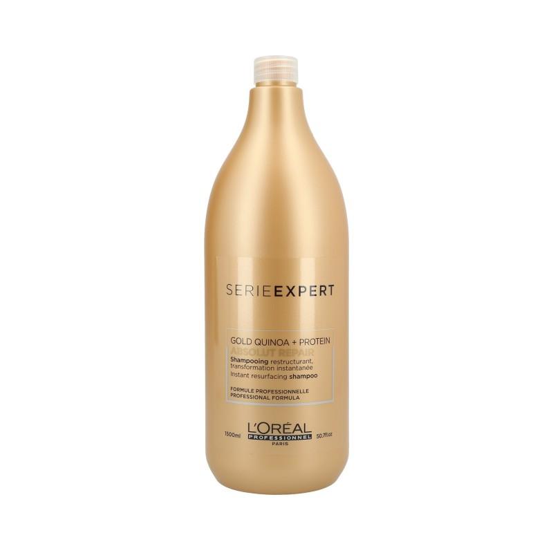 L'Oreal Serie Expert Gold Quinoa Absolut Repair Shampoo