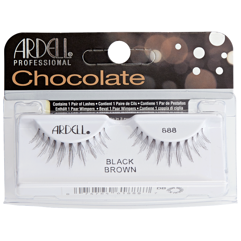 Ardell Chocolate Lashes 888 Black Brown