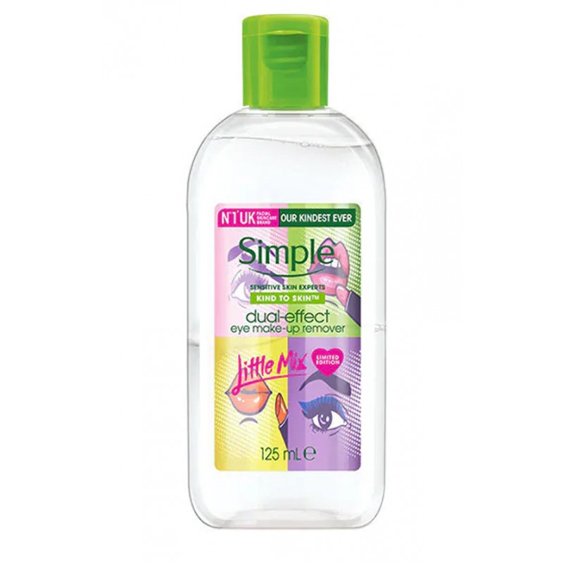 Simple Dual Effect Eye Makeup Remover Little Mix