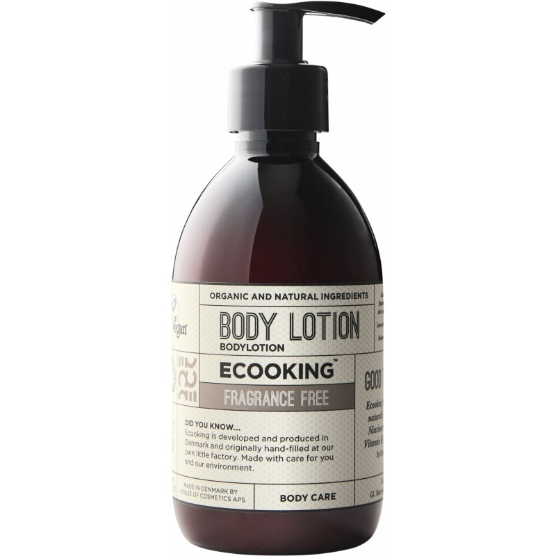 Ecooking Body Lotion Perfume Free