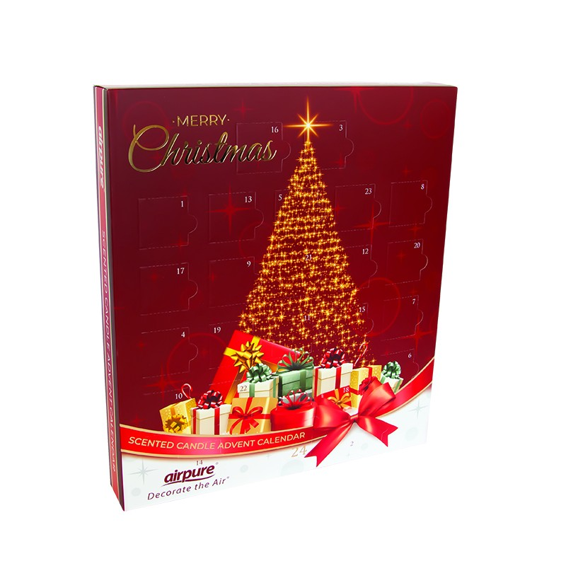 Airpure Advent Calendar Christmas Tree