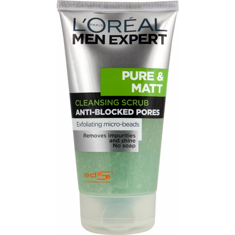 L'Oreal Men Expert Pure & Matte Cleansing Scrub