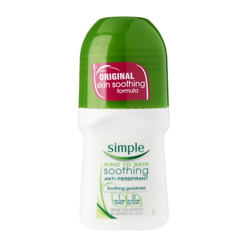 Simple Soothing Anti-Perspirant Roll On Deo