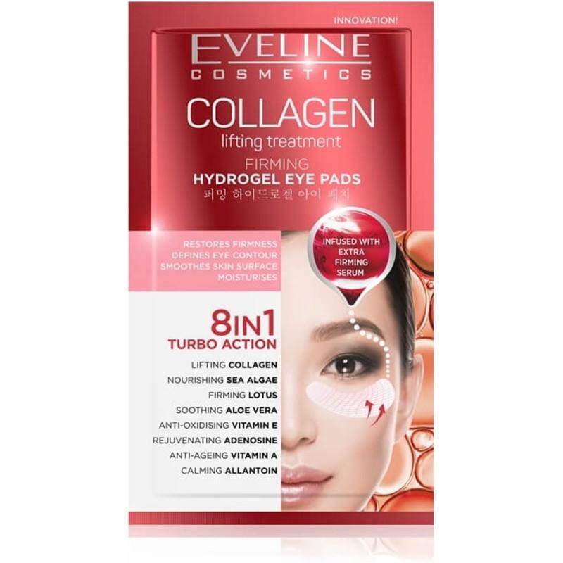 Eveline Collagen Hydrogel Eye Pads 8in1