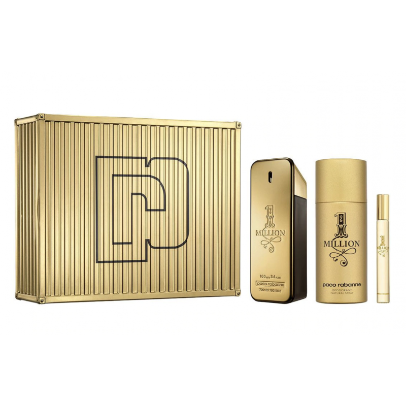 Paco Rabanne 1 Million EDT & Mini & Deospray