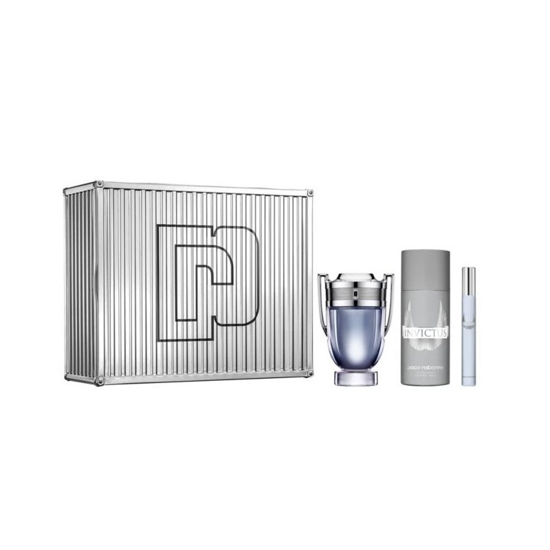 Paco Rabanne Invictus EDT & Mini & Deospray