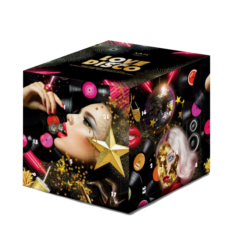 NYX Love Lust Disco Greatest Hits Julekalender