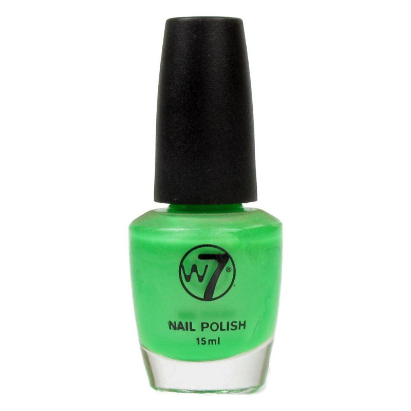 W7 Nailpolish 12 Fluorescent Green