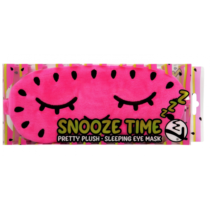 W7 Snooze Time Pretty Plush Sleeping Eye Mask