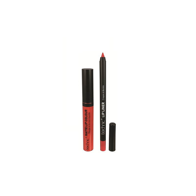 Technic Matte Lip Kit Lady Bird
