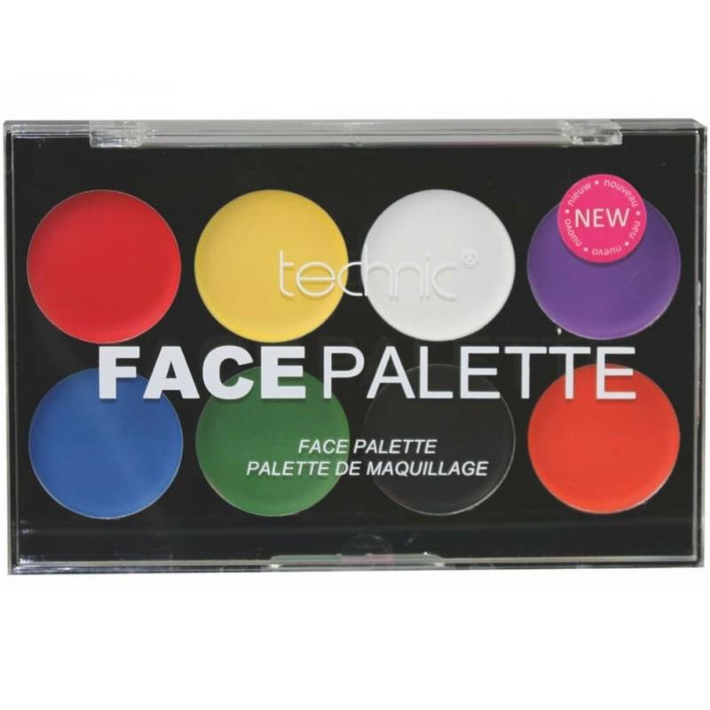 Technic Face Palette Halloween 2